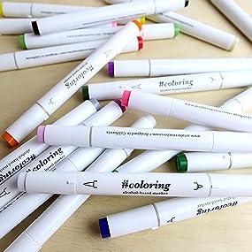 Amazon.com: Art Alternatives #coloring - Professional, Alcohol ...