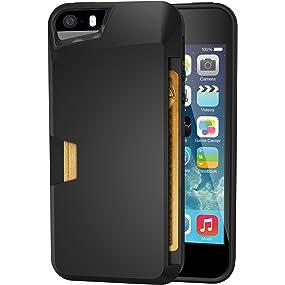iPhone 5/5S/5SE wallet case