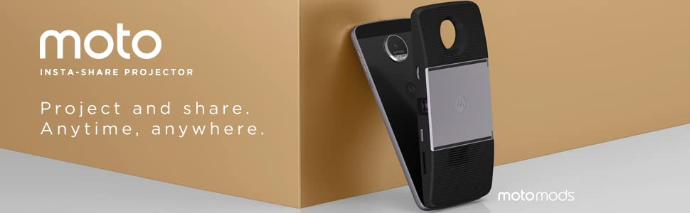Amazon Com Moto Insta Share Projector Cell Phones