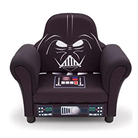 star, wars, Lucas, film, force, awakens, darth, vader, kids, chair