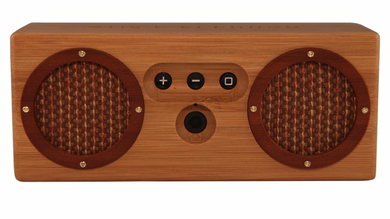 Amazon.com: Otis & Eleanor Bongo Bamboo Wood Bluetooth
