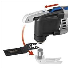 Dremel Mm30 04 Multi Max 3 3 Amp Oscillating Tool Kit With