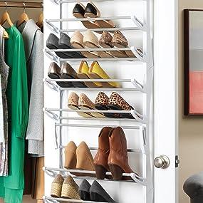 honey-can-do, pro-mart, promart, decobros, misslo, songmics, organize it all, shoe, storage, door