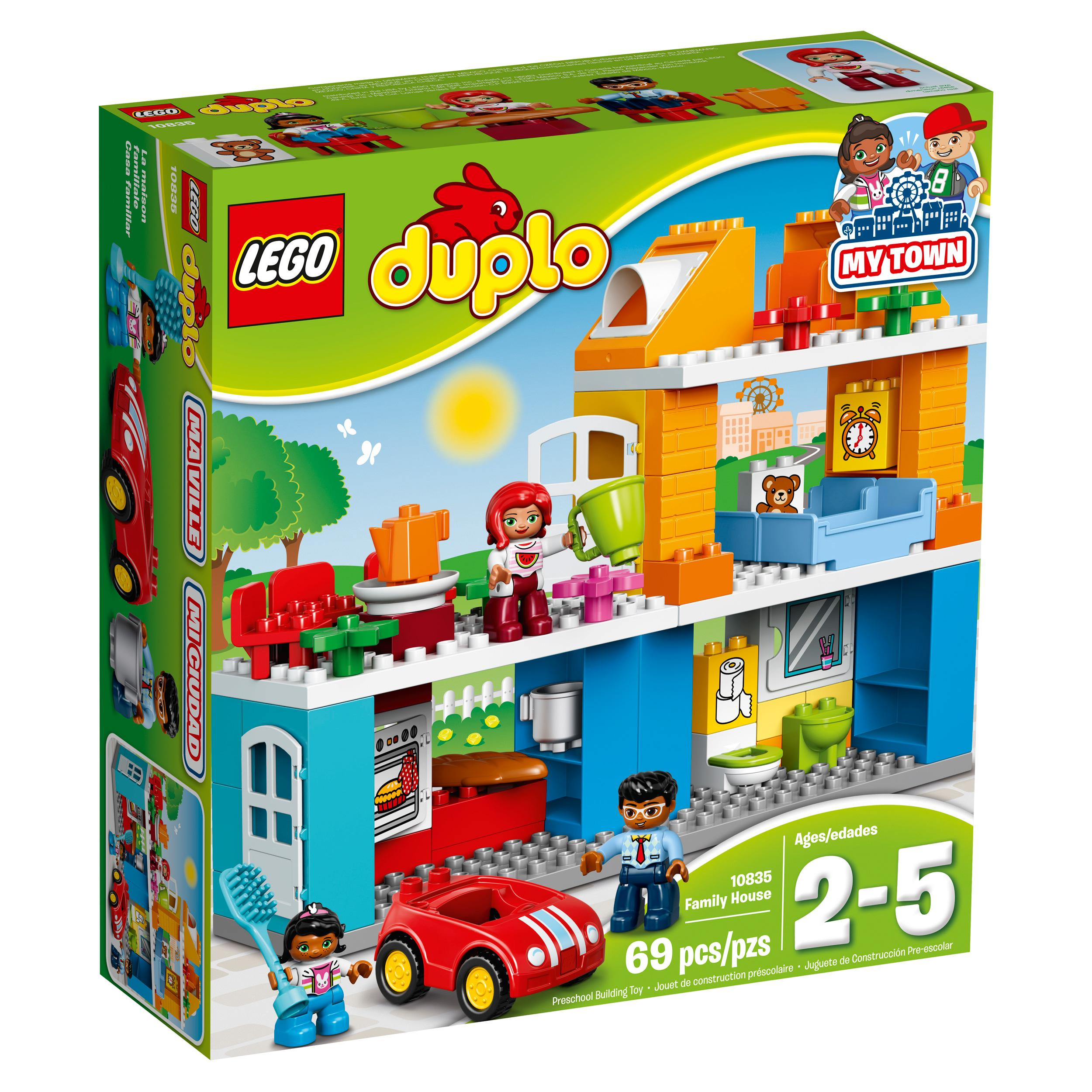 Lego Building Toys : Amazon lego duplo my town family house building