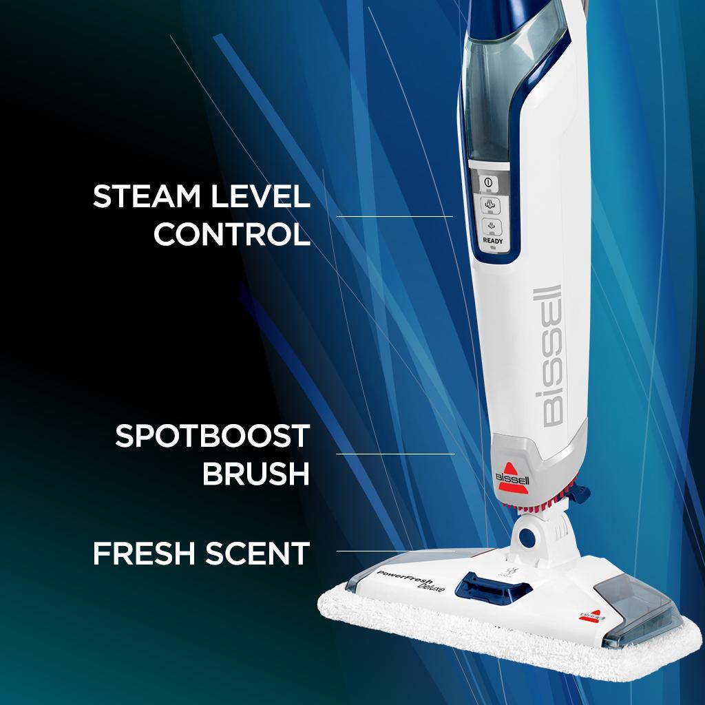 Amazon Com Bissell Powerfresh Deluxe Steam Mop Floor