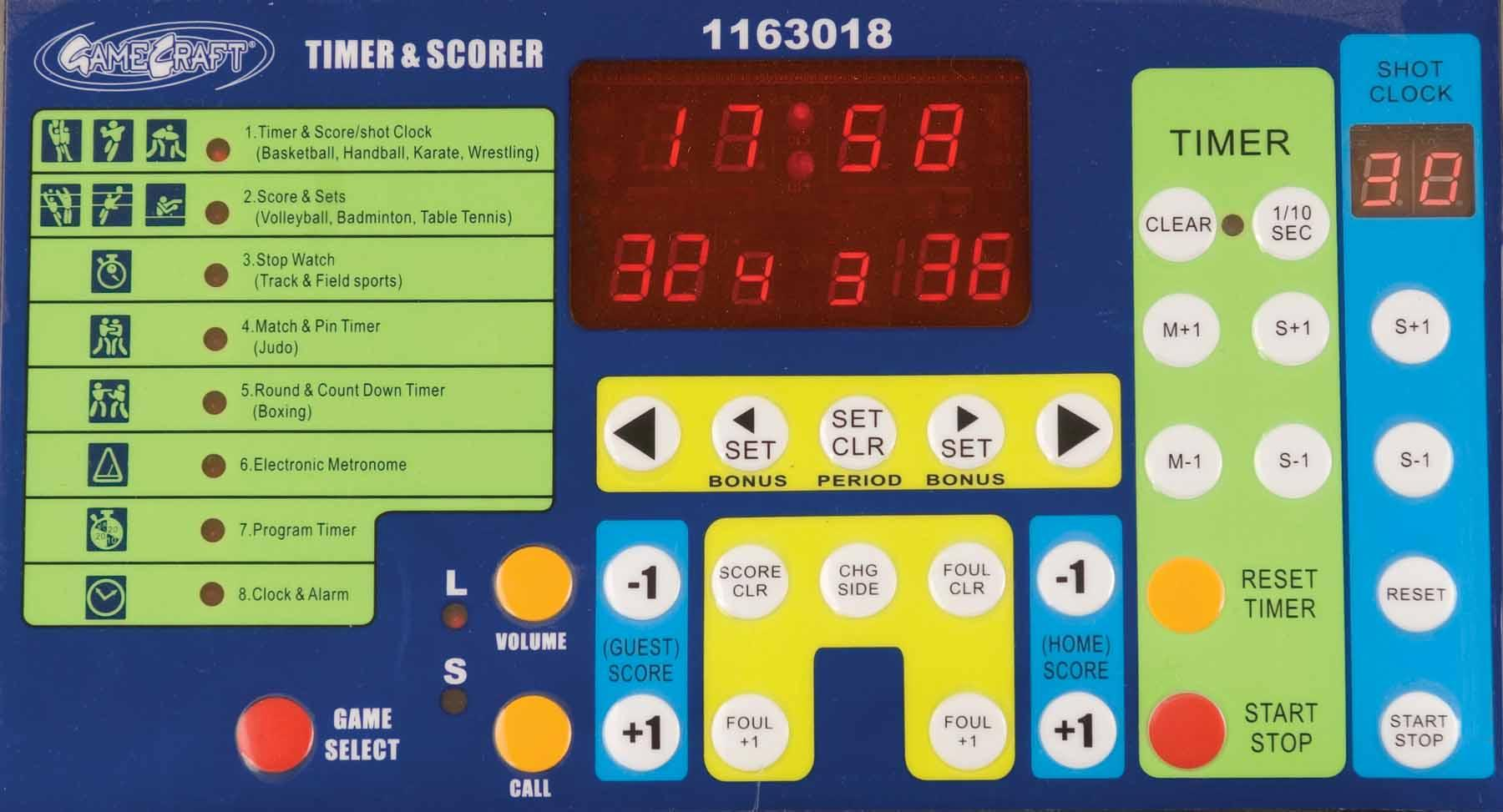 Amazon.com : BSN Multisport Indoor Tabletop Scoreboard ...