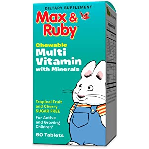 Max Ruby Chewable Multi Vitamin With Minerals