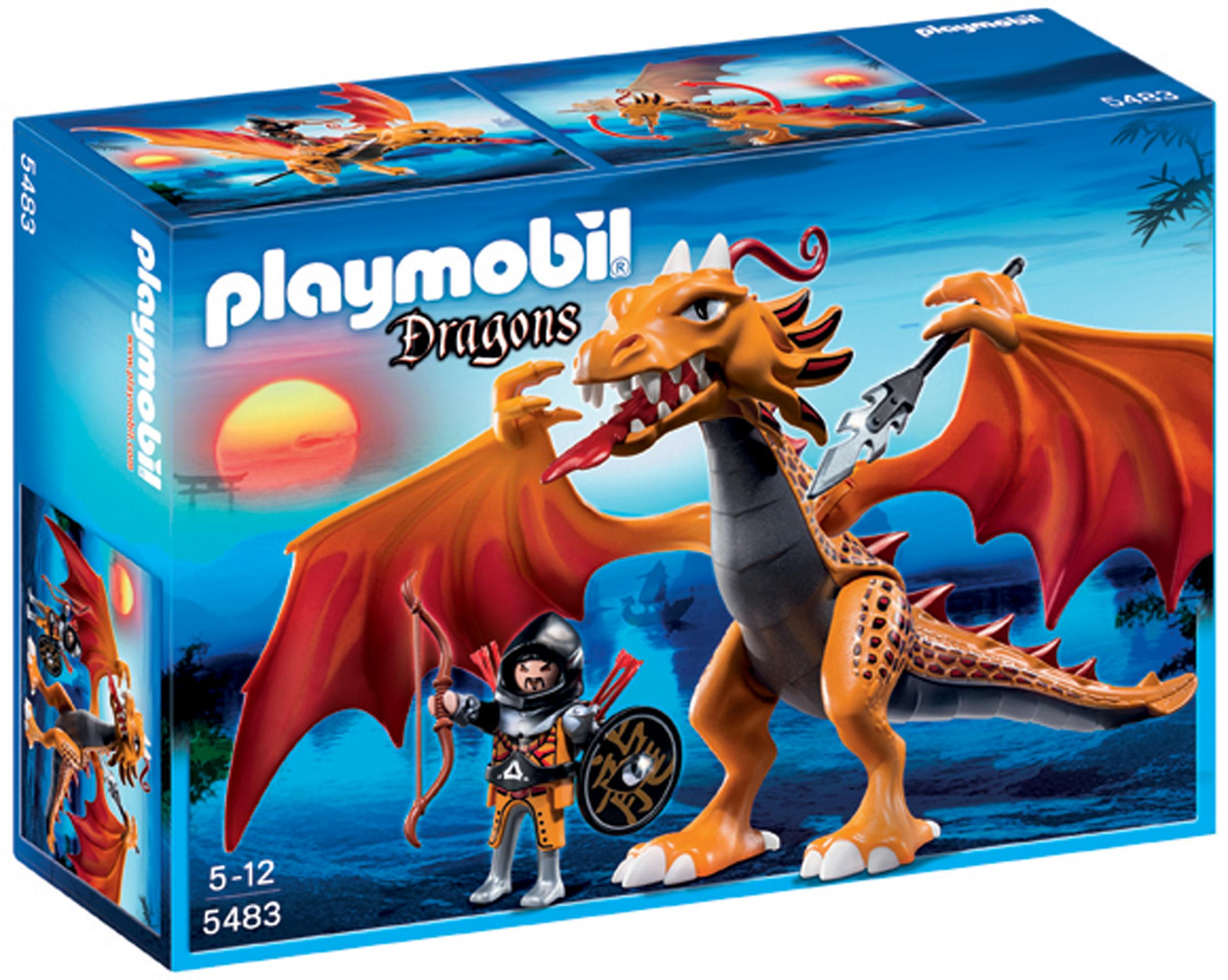 how to train a dragon toy playmobil