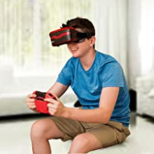 Amazon Com Vr Real Feel Virtual Reality Car Racing Gaming