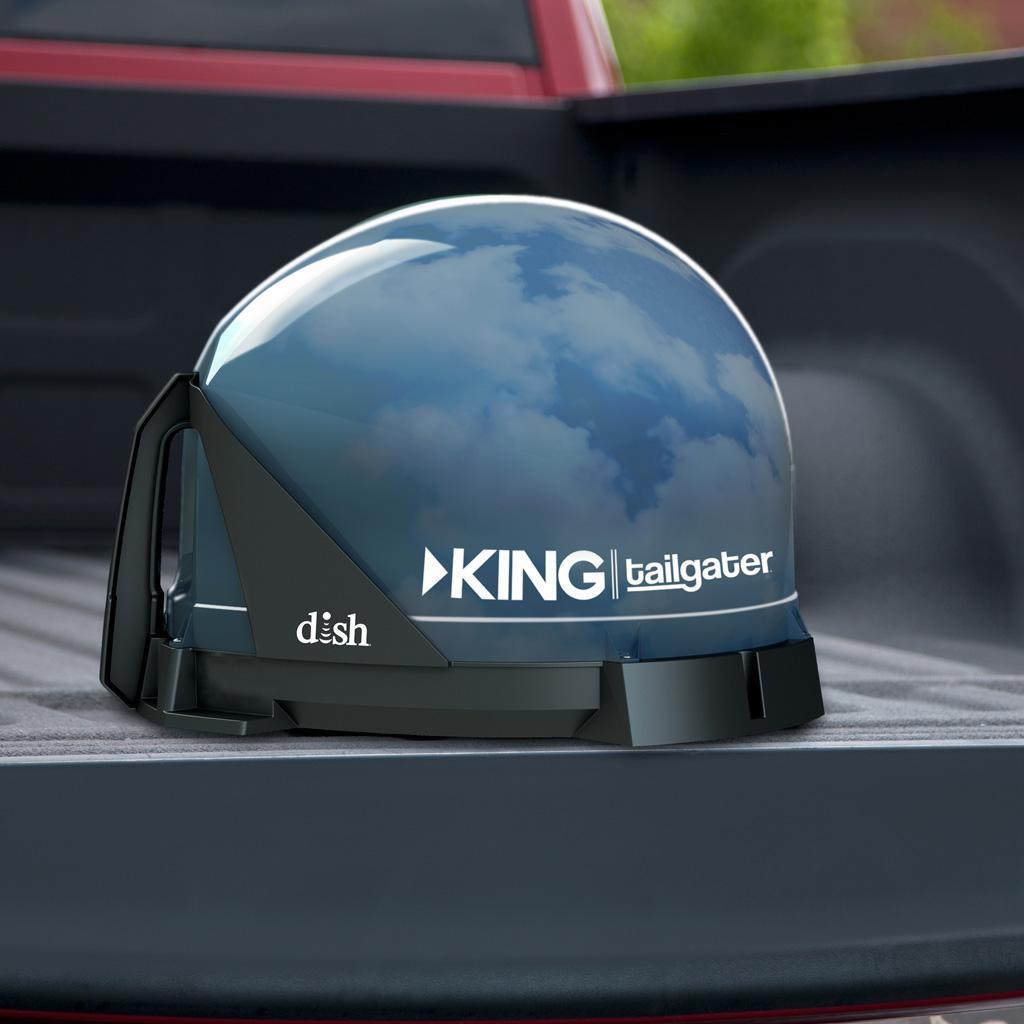 Amazon Com King Vq4500 Tailgater Portable Roof Mountable