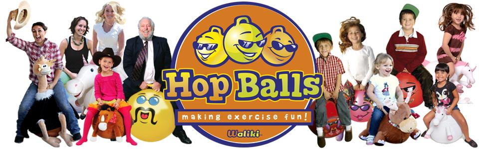 Amazon Com Waliki Hopper Ball For Kids 3 6 Hippity Hop