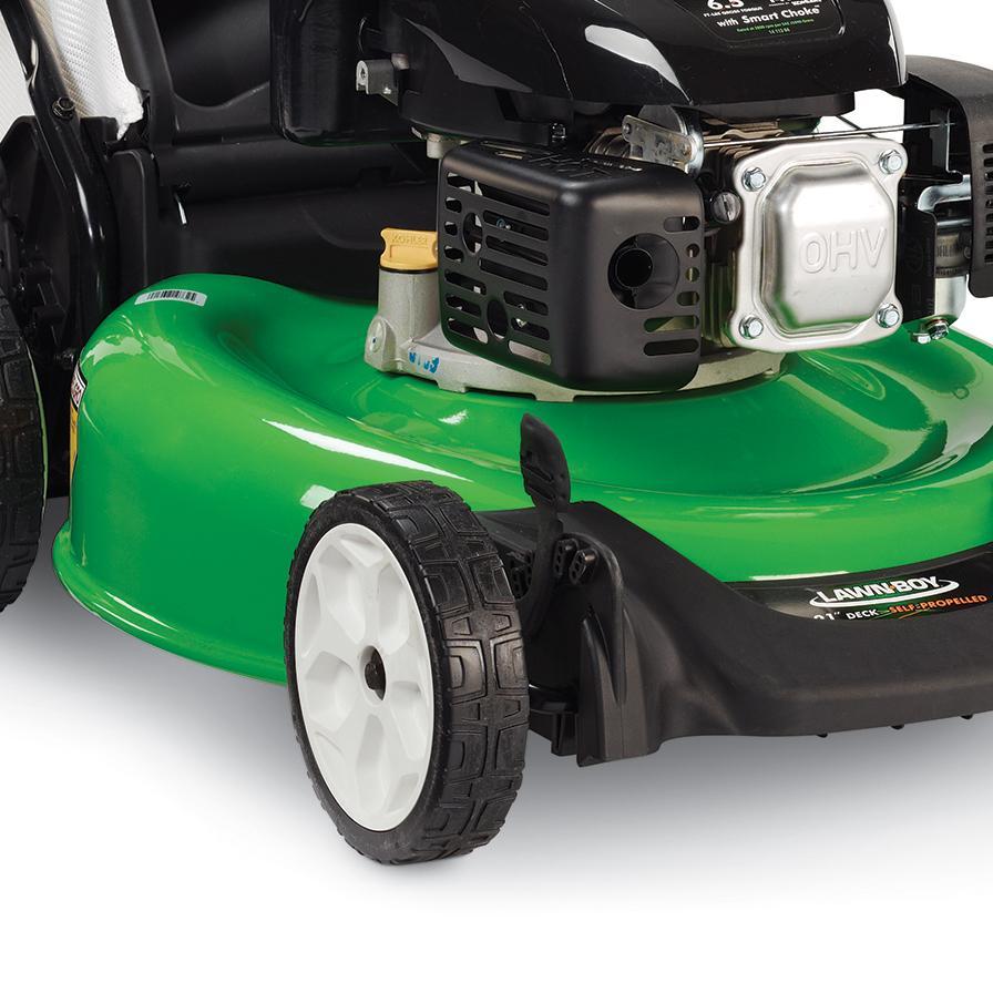 gas lawn mower tough grass cutting powerful cordless honda engines garden tool ebay