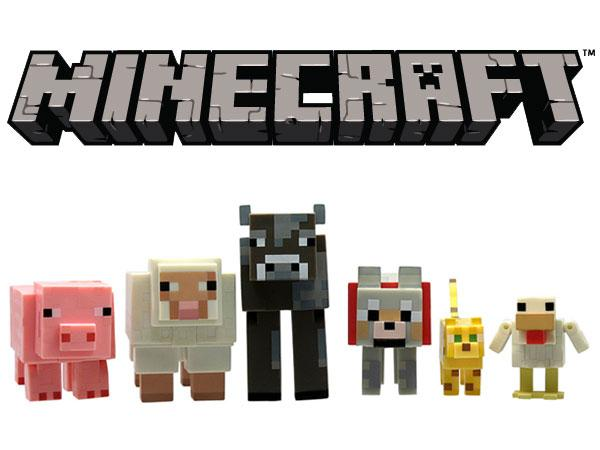 minecraft animal toys pack toy figures animals mobs amazon games craft action multipack dogs dog cake passive pc animais cakes