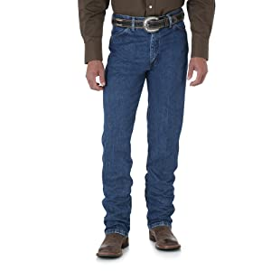 Amazon.com: Wrangler Men's Cowboy Cut Slim Fit Jean: Clothing