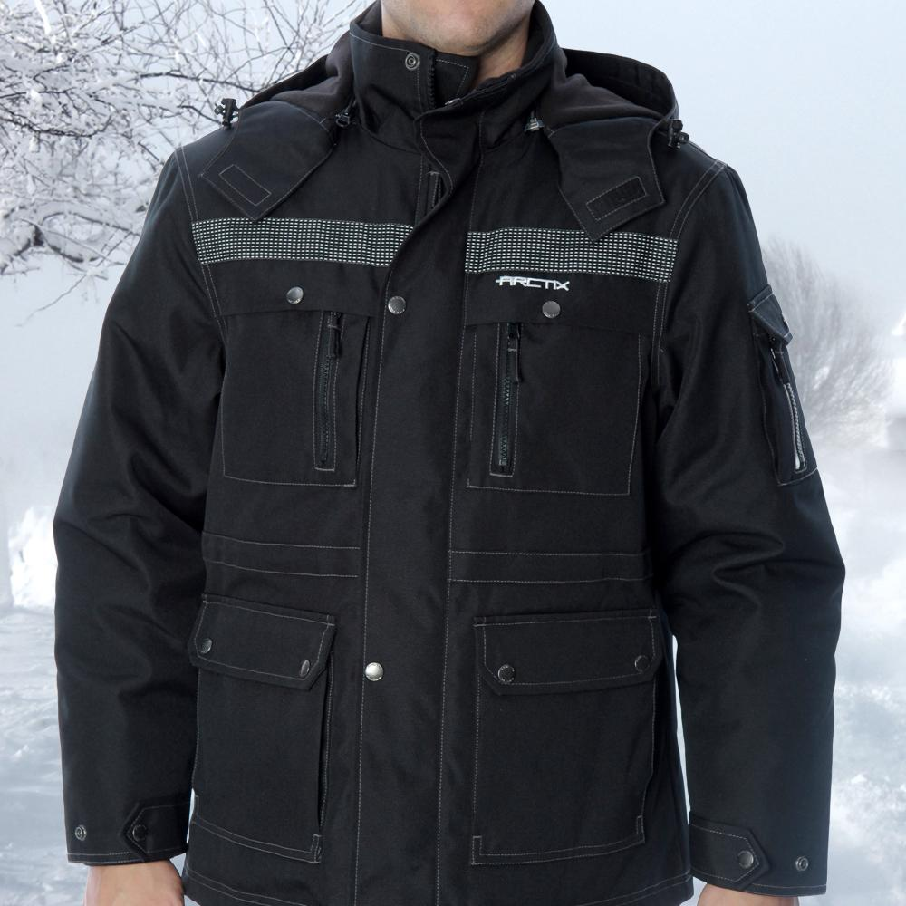 Amazon.com : Arctix Men's Performance Tundra Jacket with Added ...