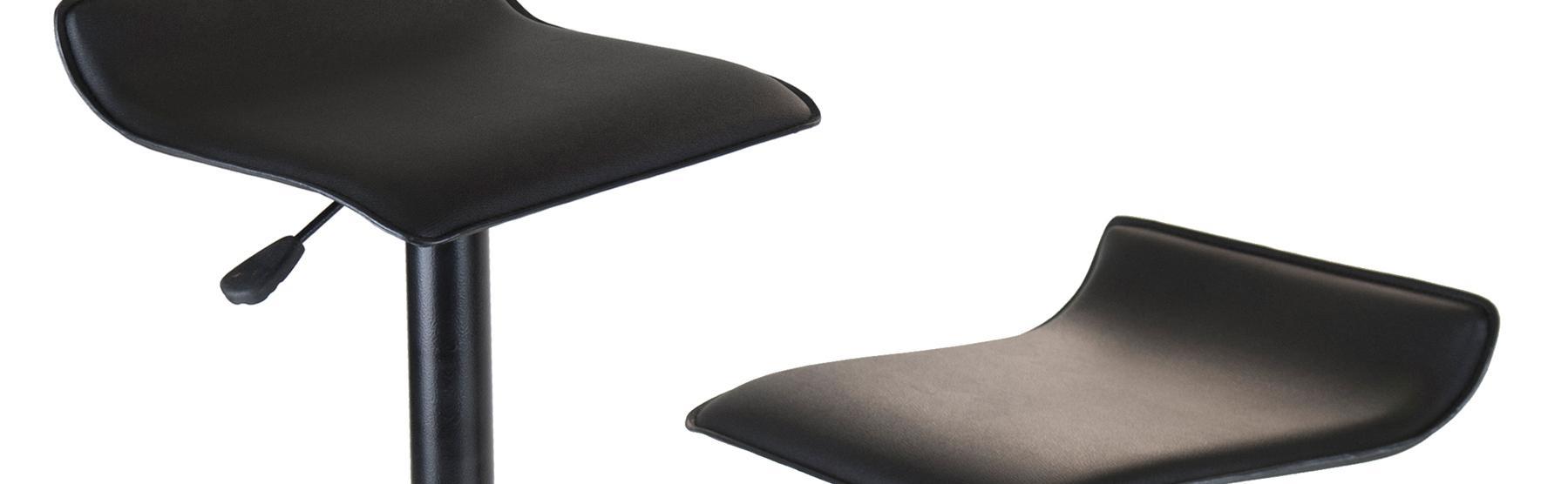 Amazon Com Winsome Wood Set Of 2 Obsidian Adjustable