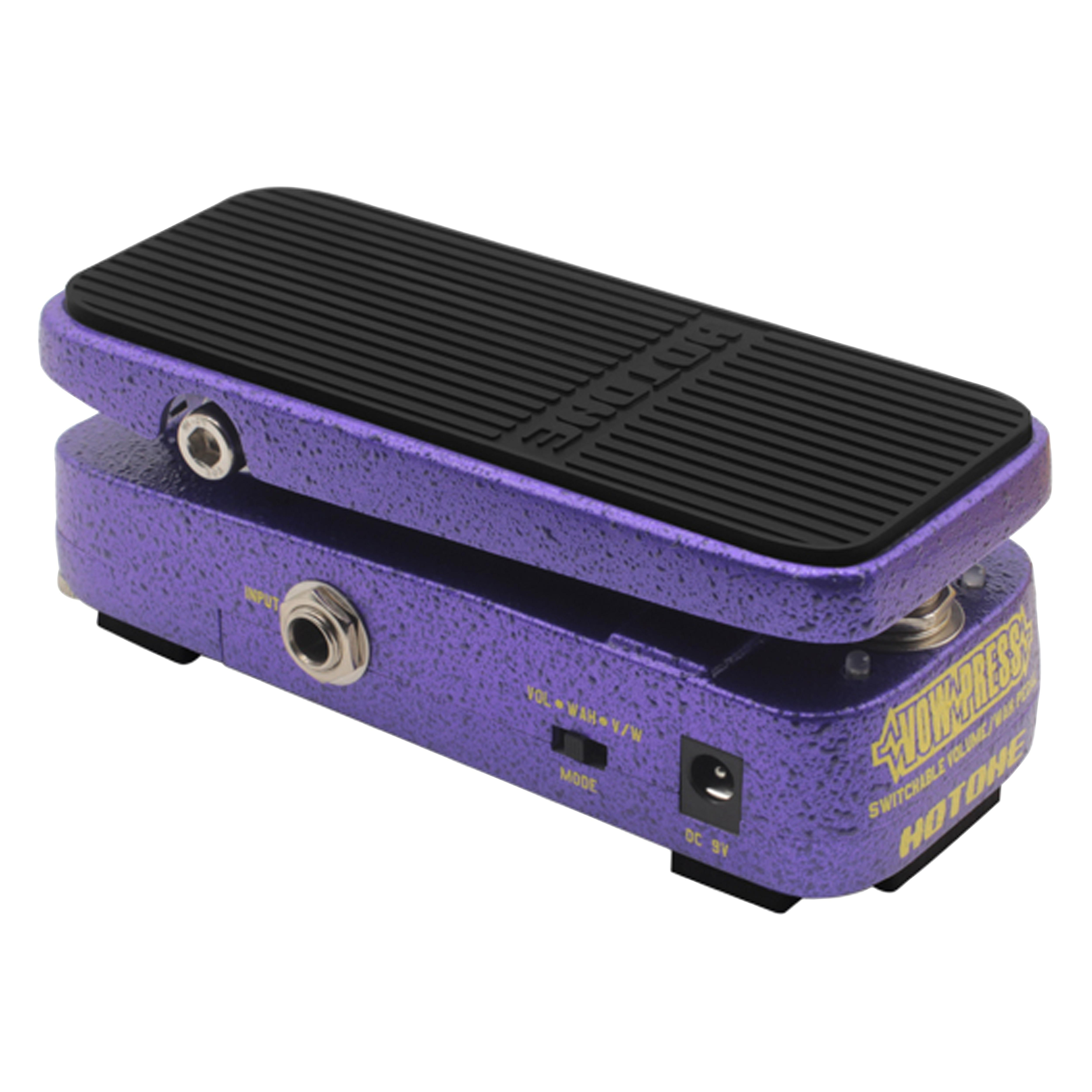 Hotone Vow Press Switchable Volume//Wah Pedal