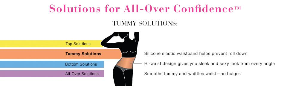 Maidenform Flexees Women's Shapewear Hi-Waist Brief Firm Control