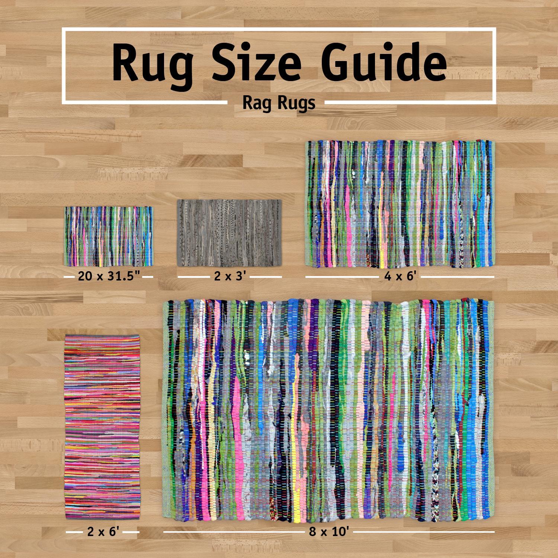 Amazon.com: DII Home Essentials Rag Rug For Kitchen