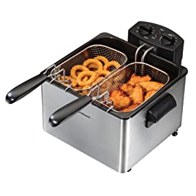 fryers electric basket oil fish chicken stainless steel large indoor best rated reviews sellers ulti