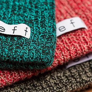 neff, beanie, heather, daily, soft, slouchy
