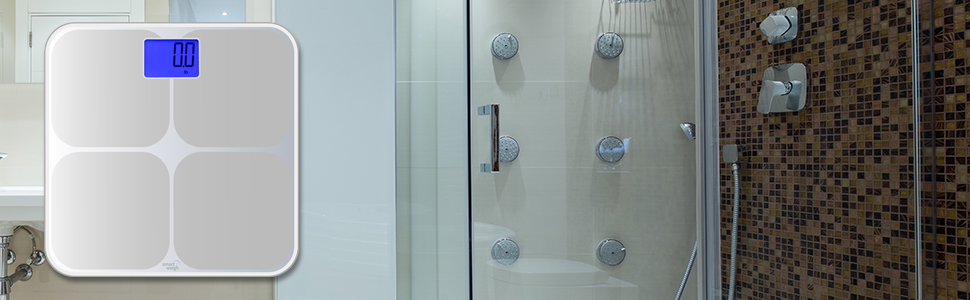 digital bathroom scale elegant precise accurate home vanity