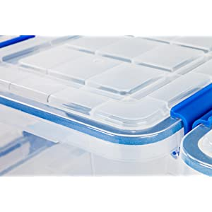 Amazon Com Ziploc Weathershield 60 Quart Storage Box 4