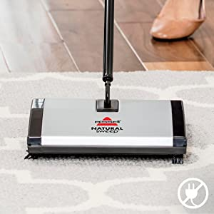 Amazon Com Bissell Natural Sweep Carpet And Floor Sweeper