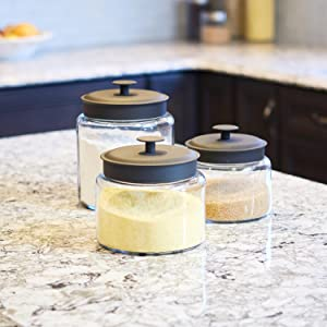 Counter Storage; Durable; Baking; Montana Jars