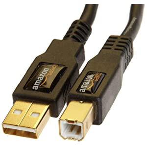 USB 2.0 A-Male to B-Male Cable