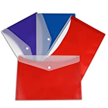 Reusable Poly Envelope with Snap Closure