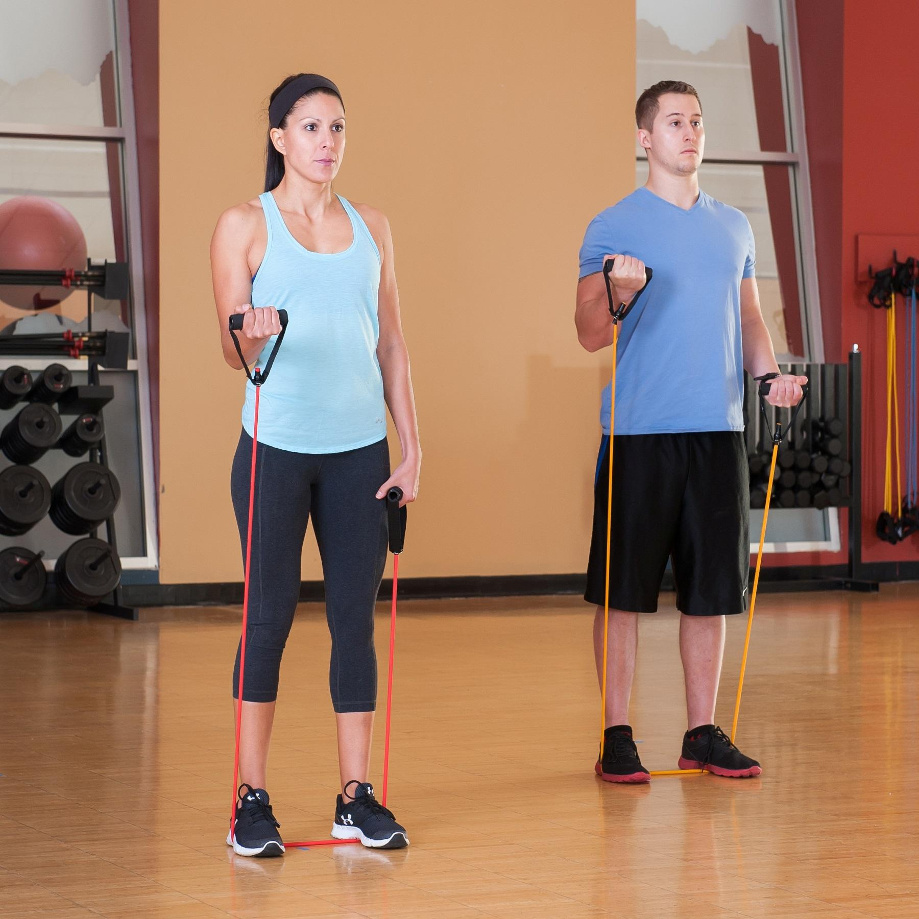 Band Set (Five Bands Included) : Exercise Bands : Sports & Outdoors