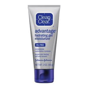 CLEAN & CLEAR ADVANTAGE Hydrating gel moisturizer