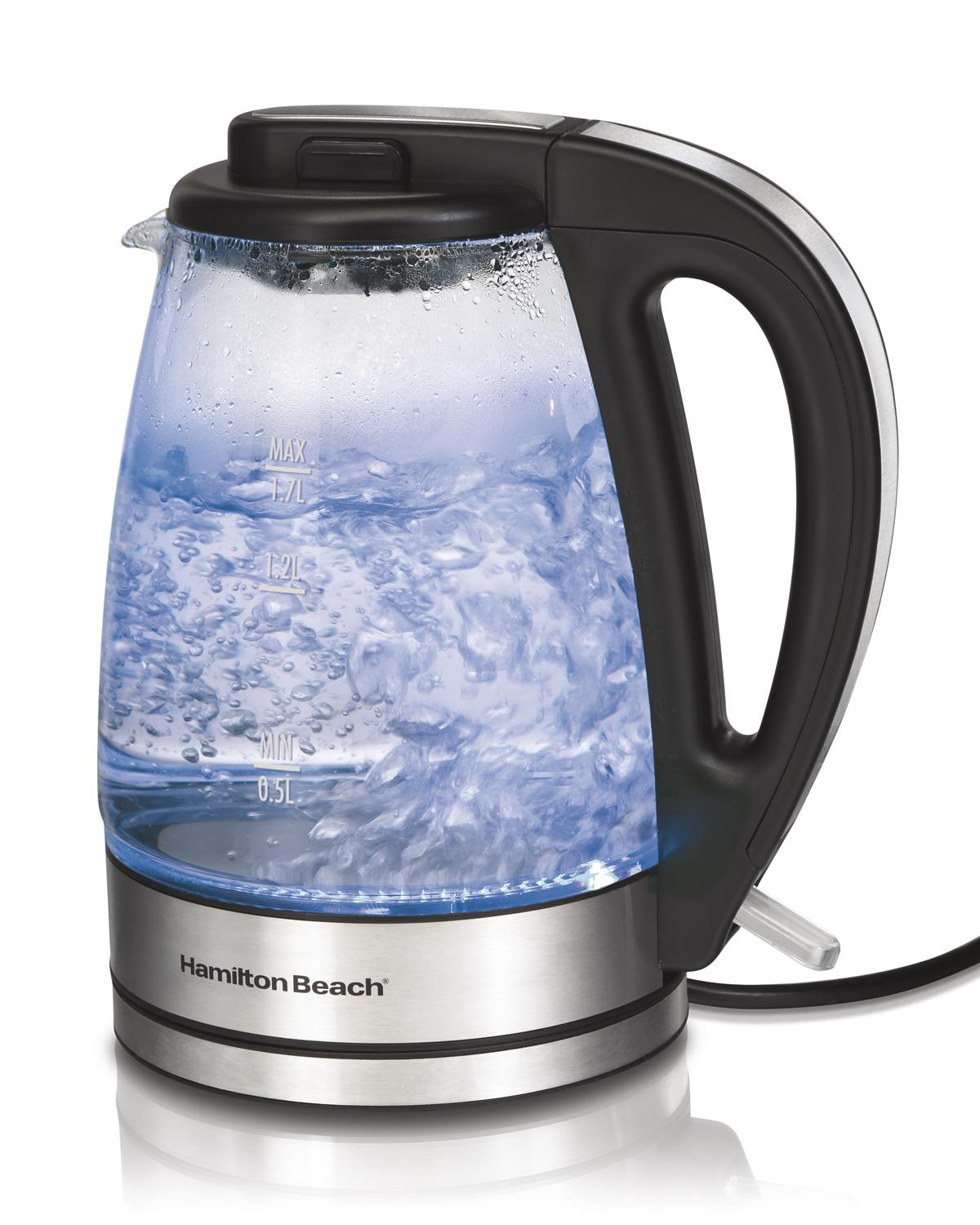 Amazon hamilton beach glass electric kettle