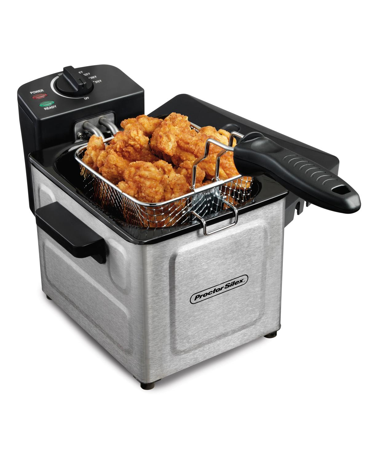 Electric Deep Fryer : Electric deep fryer stainless steel counter top cooker