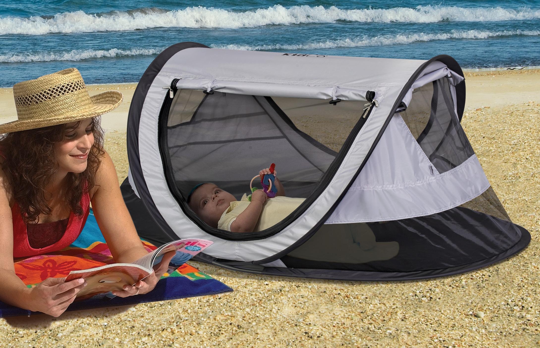 KidCo PeaPod Plus  sc 1 st  Amazon.com & Amazon.com : KidCo Peapod Plus Infant Travel Bed Kiwi : Infant ...