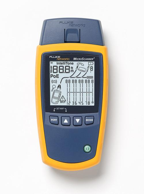 Fluke Networks Ms2 100 Cable Tester Circuit Testers