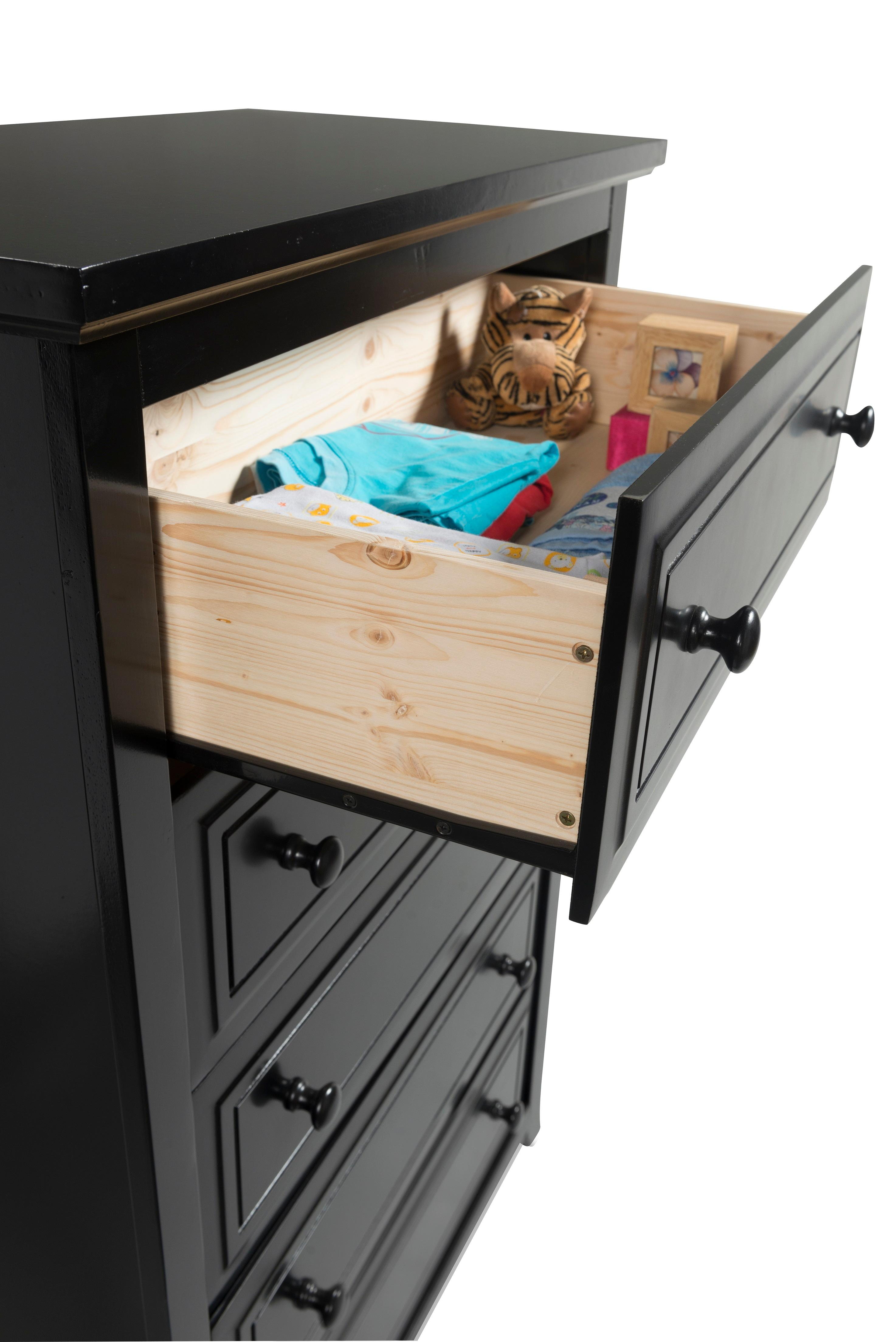 Amazon.com: Graco Kendall 5 Drawer Chest, Black, Kids