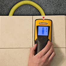 Stud finder, wall scanner, x85, Deep Scan, Zircon, Center Finding, PEX, AC Mode, Thermal Scanner