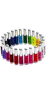 Amazon shany nail art set 24 famous colors nail art polish shany nail art set prinsesfo Image collections