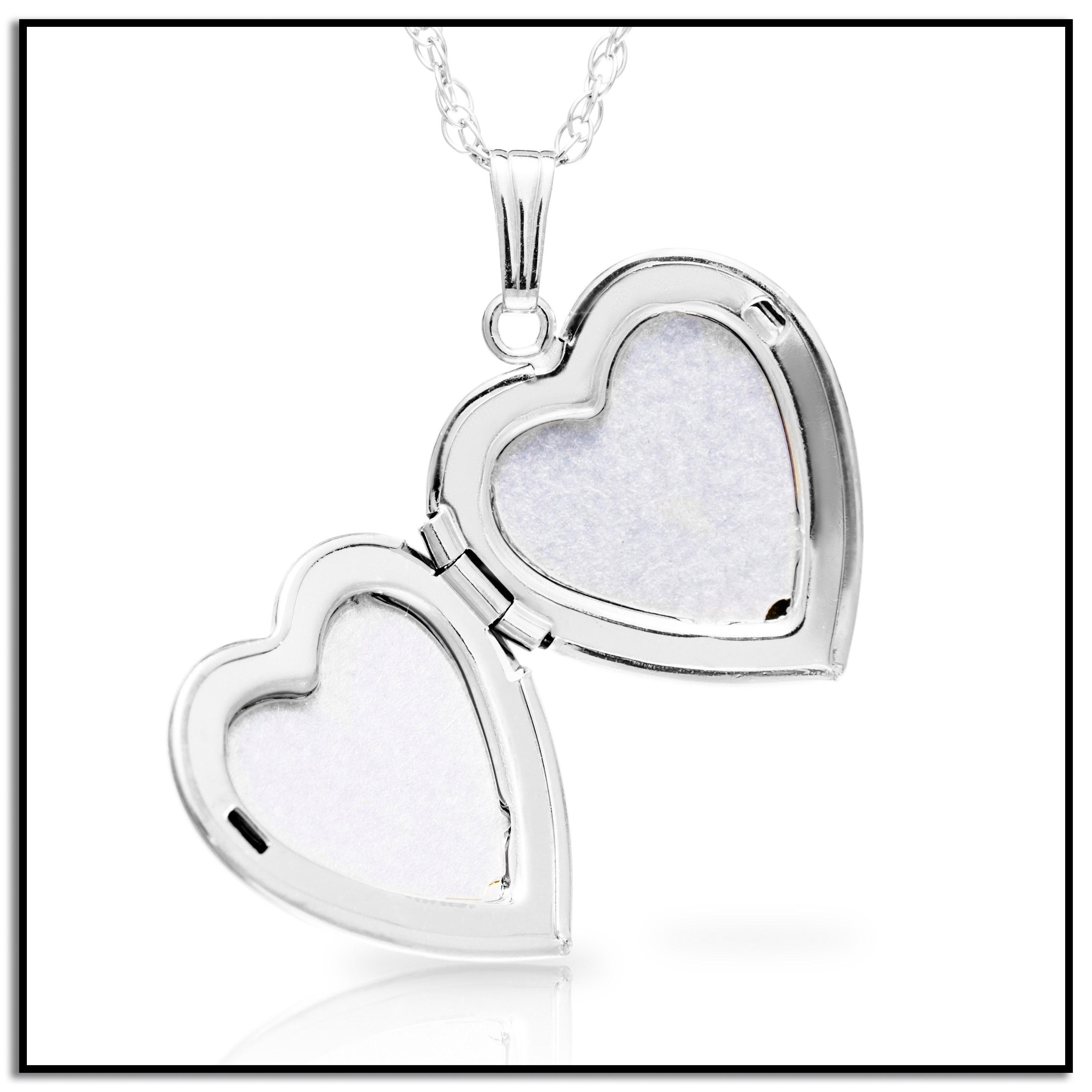 piece jewelry qlt steel wid hei coast stainless heart two prod west necklace necklaces p