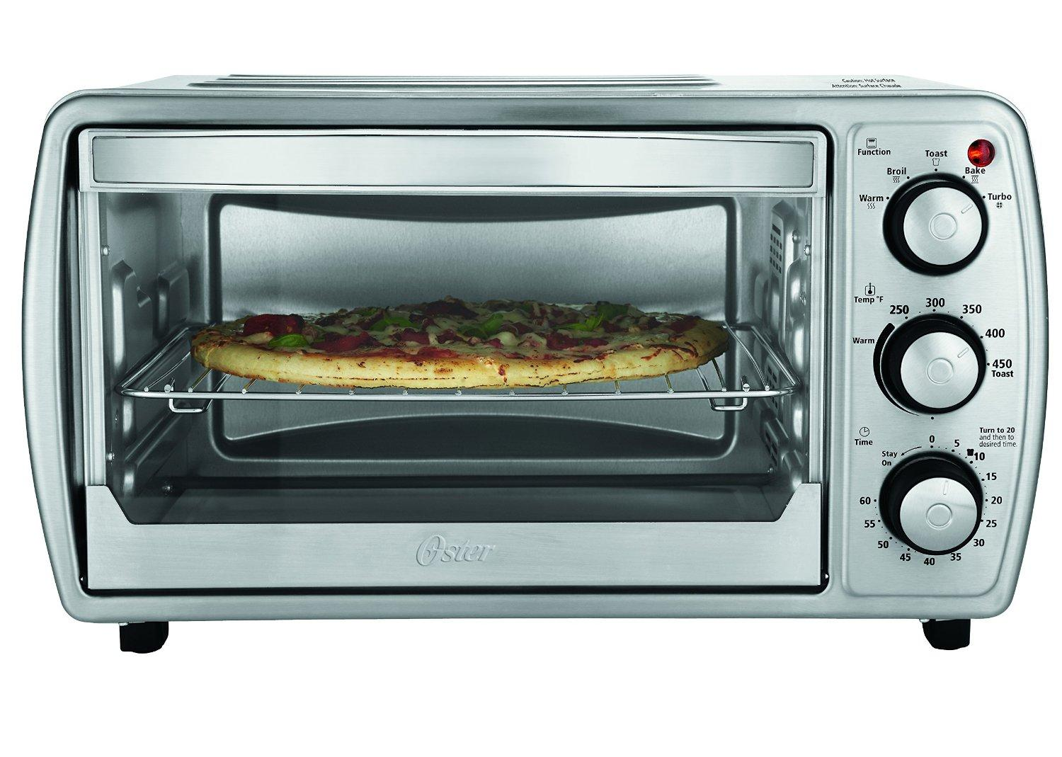 Amazon Com Oster Tssttvcg02 Oster 6 Slice Convection