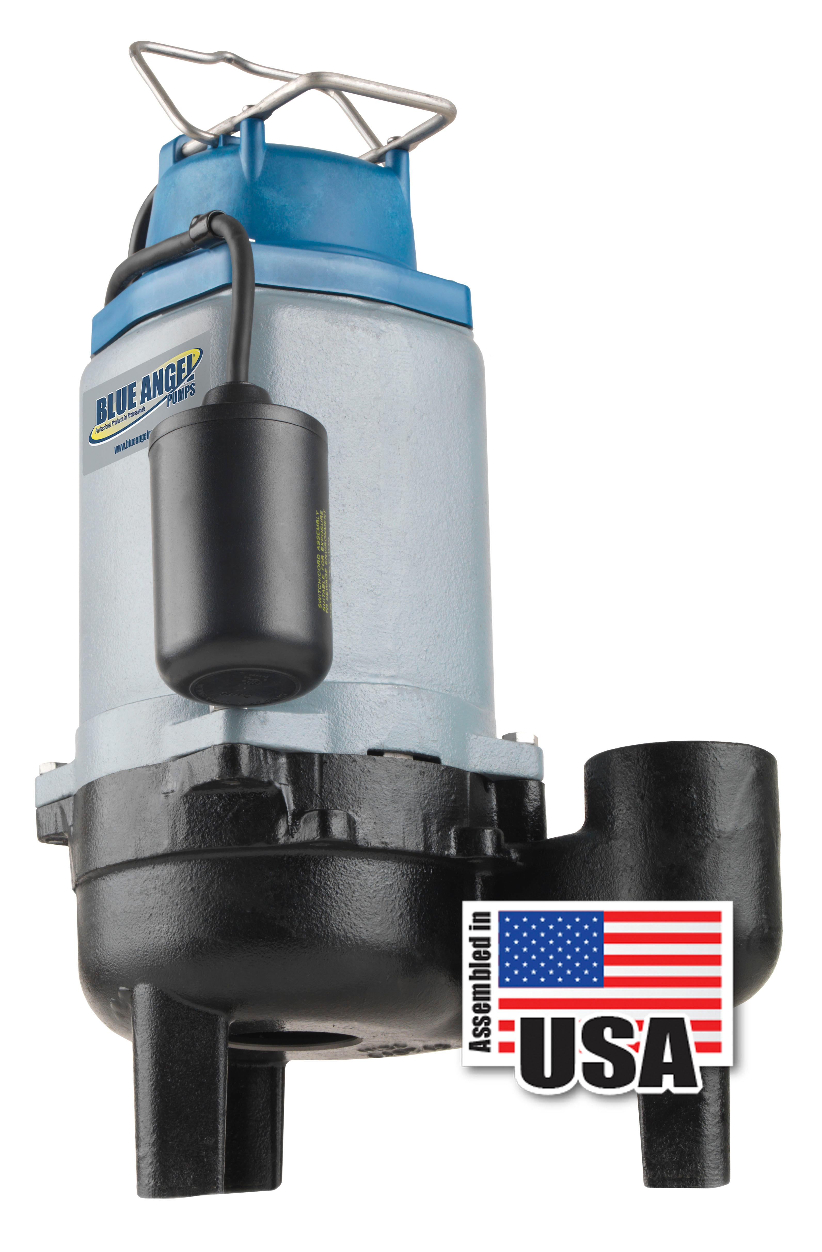 blue angel pumps t50sw 1 2 hp 120v commercial grade submersiblePump Additionally Sump Pump Float Switch Besides Sewage Ejector Pump #2