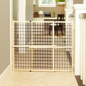 Amazon.com: MyPet Extra Wide Wire Mesh Pet Gate: Pet Supplies