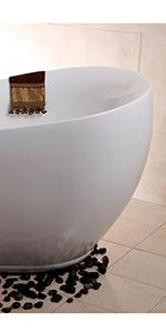 Single Slipper Bathtub tub Acrylic Freestanding