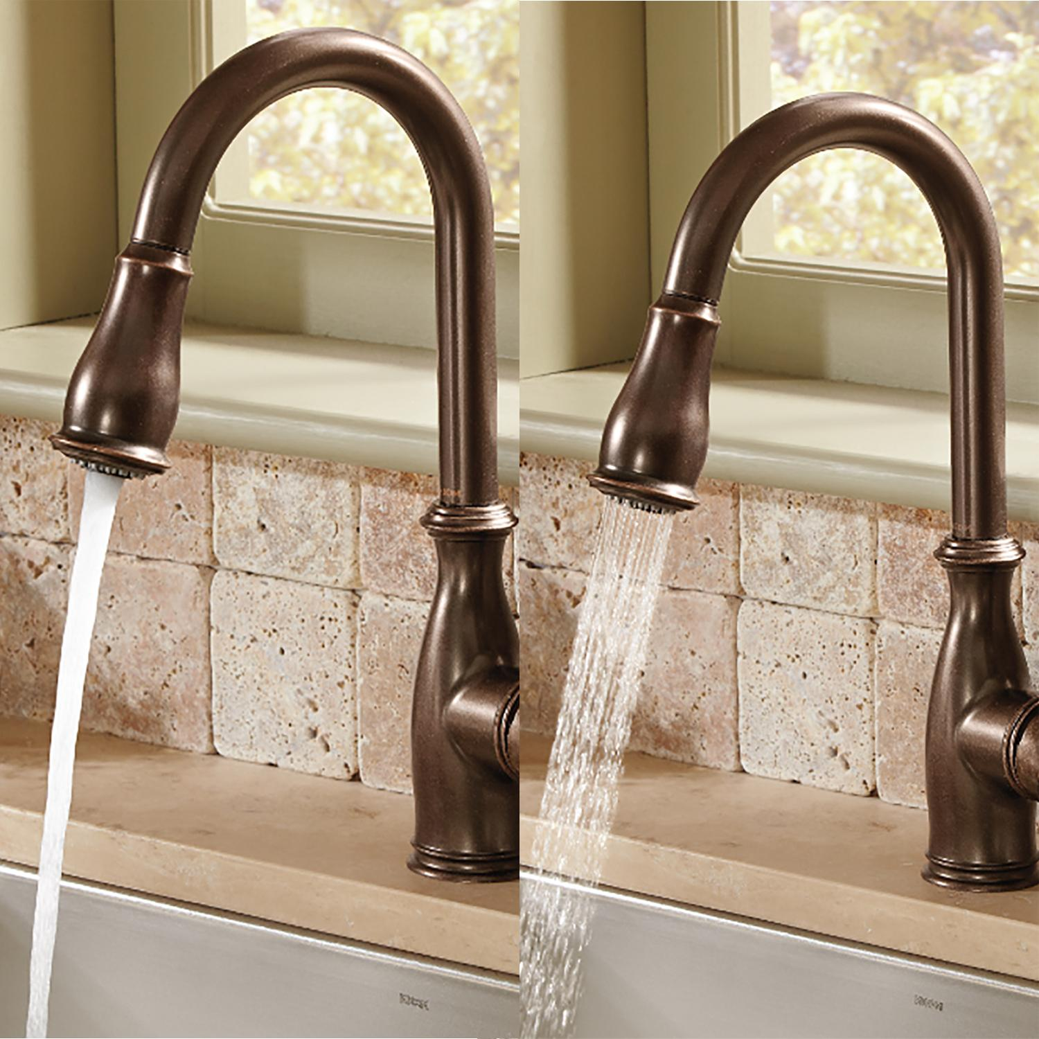 Moen Brantford One Handle High Arc Pulldown Kitchen Faucet