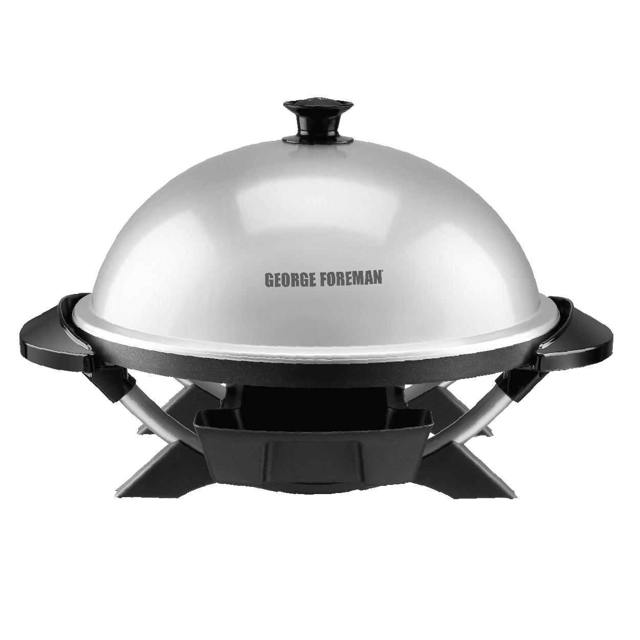 George foreman gfo200s indoor outdoor electric grill silver kitchen dining - Buy george foreman grill ...