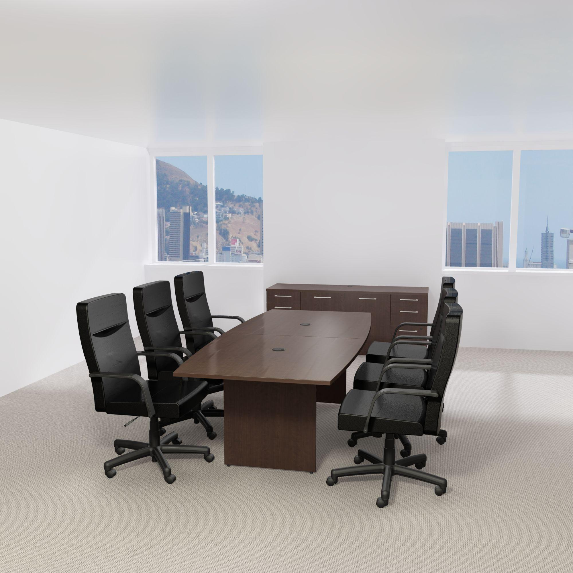 Amazoncom Bush Business Furniture Round Conference Table With - 120 conference table