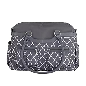 jj cole satchel diaper bag stone arbor diaper tote bags baby. Black Bedroom Furniture Sets. Home Design Ideas