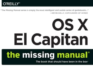 El Capitan, Missing Manual, David Pogue, OS X, Mac, Apple, iOS